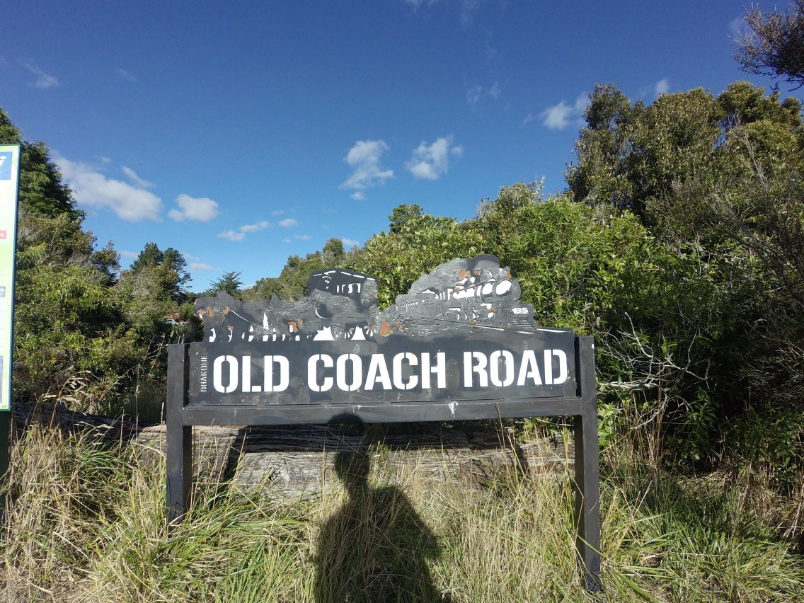 the old coach road mtb trail